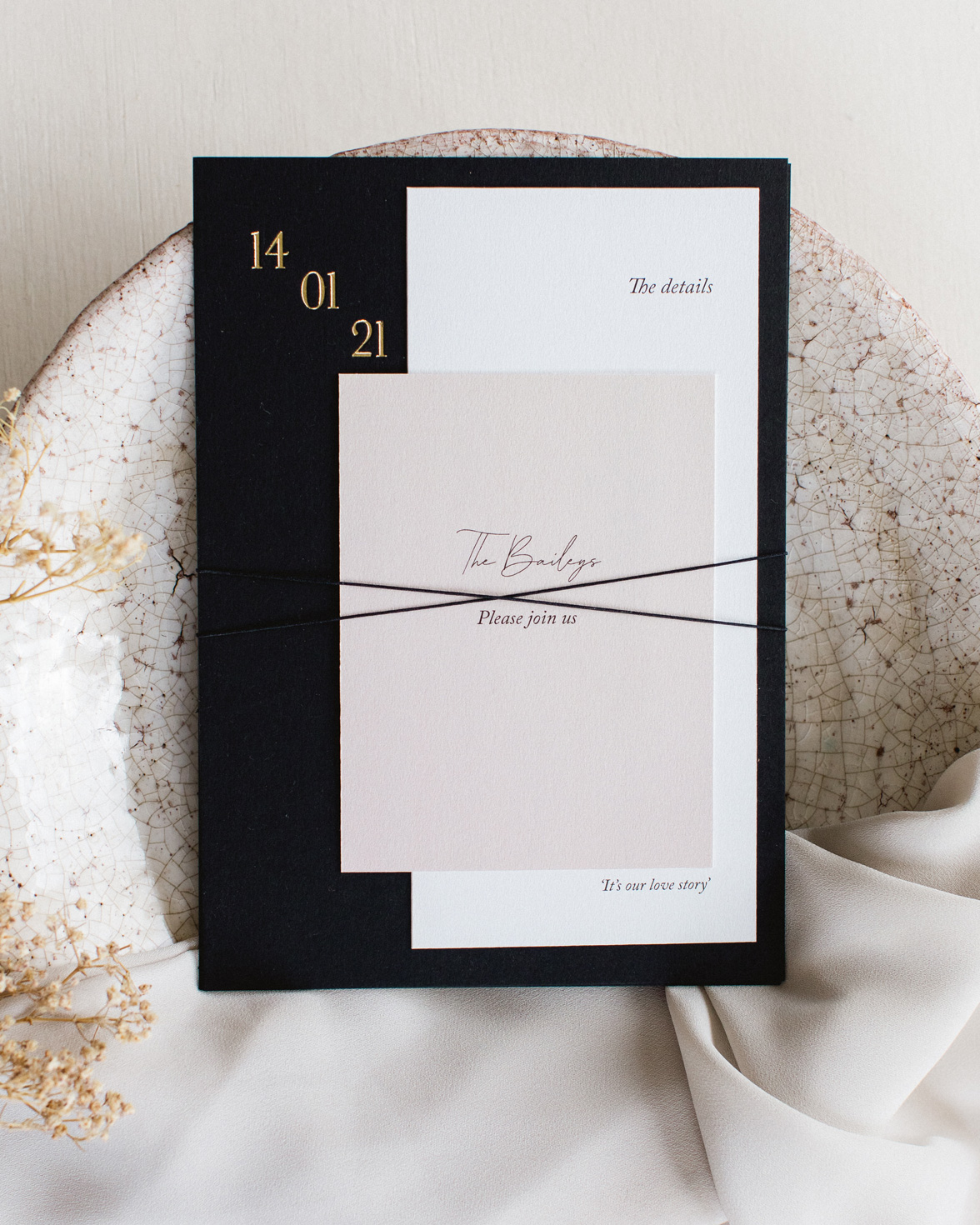 Simply Harmony wedding stationery bundle