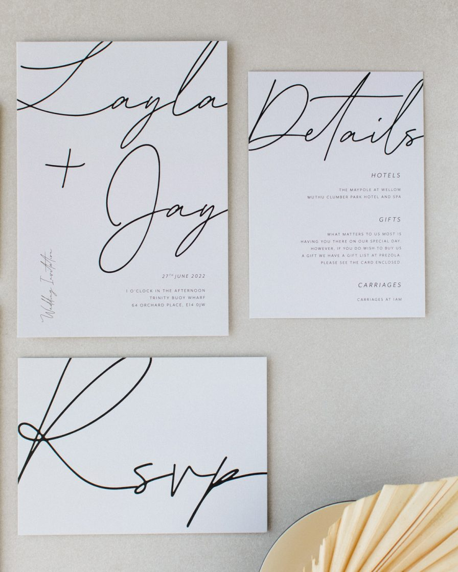 Libre Firma Wedding Stationery Pack
