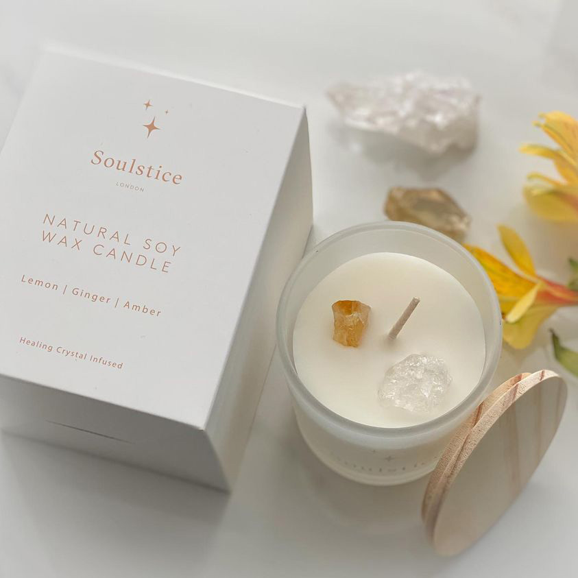Soulstice Candle Box Branding